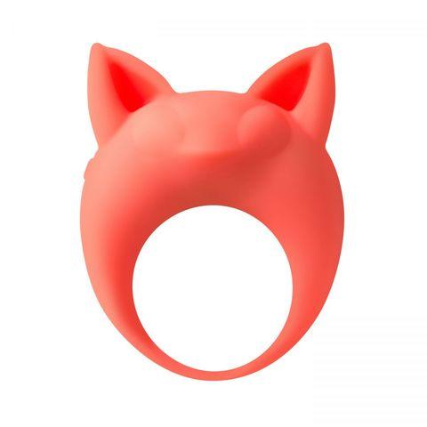 Оранжевое эрекционное кольцо Lemur Remi
