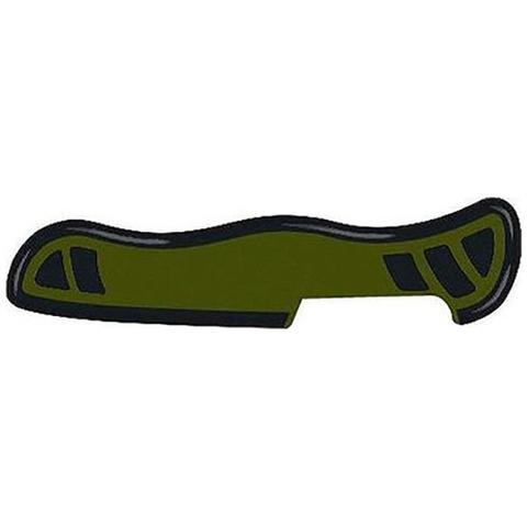 Задняя накладка ножа Victorinox Swiss Soldier's Knife 08 111 мм, нейлоновая, зелёно-чёрная