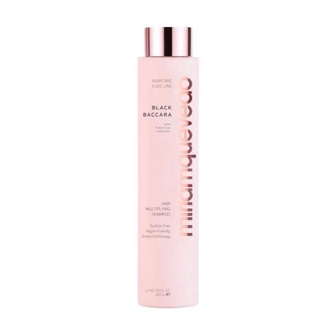 MIRIAM QUEVEDO | Шампунь для уплотнения и объема волос  с экстрактом розы Блэк Баккара / Black Baccara Hair Multiplying Shampoo, (250 мл)