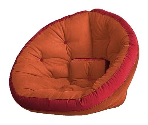 Универсальные кресла Кресло Farla Lounge Оранжевое с красным ora_red_red.jpg