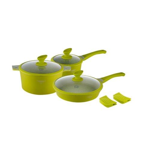 Посуда Набор посуды с покрытием под мрамор