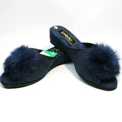 Тапочки женские Inblu RR-7S Dark Blue