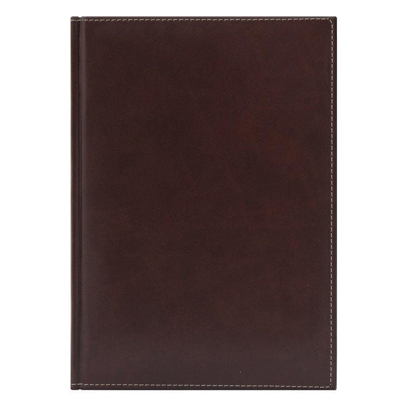 Недатированный ежедневник PORTLAND 650U (5452) 145x205 мм, без календаря, коричневый, золот.срез