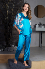 Пижама из натурального шелка Сакура