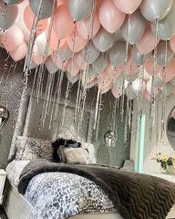 Латексные шары под потолок