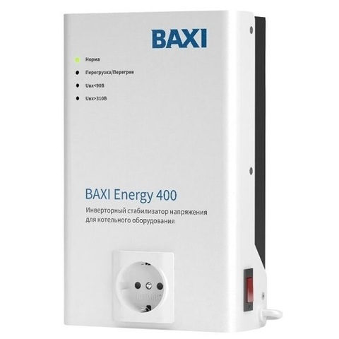 Baxi Energy 400 стабилизатор напряжения инверторный (мощность 350 Вт)