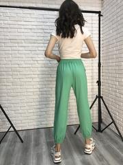 Спортивные штаны зеленого цвета недорого