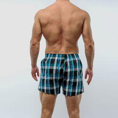 Мужские трусы-шорты зеленые Salvador Dali SD3310-9