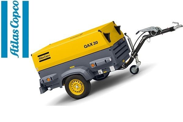 Дизельная электростанция (генератор) Atlas Copco QAX 30