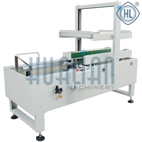 Полуавтомат для складывания и заклейки дна коробок DZF-5050