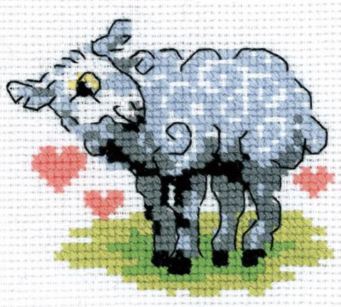 6-087 Овечка-сердечко
