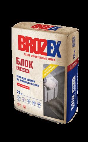 Клей для блока Брозекс Брик KSB 17 25 кг