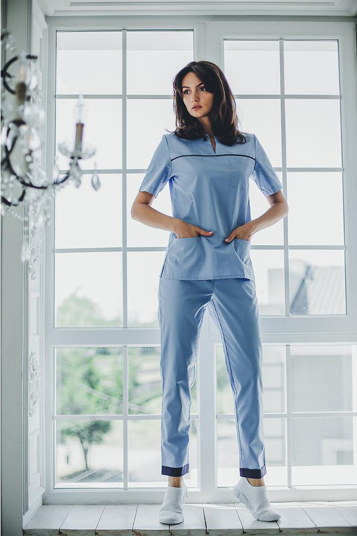 Блуза женская медицинская М65-к