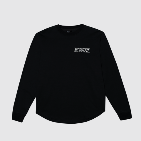 Свитшот NC Sport lightweight crewneck - black/white