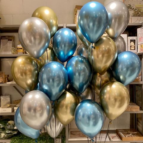 Воздушные шары хром купить в Москве