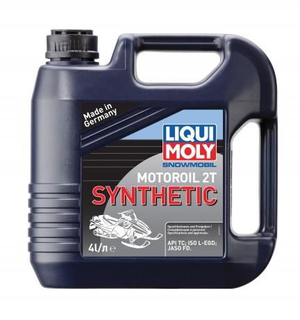 Liqui Moly Snowmobil Motoroil 2T Synthetic - Синтетическое моторное масло для снегоходов