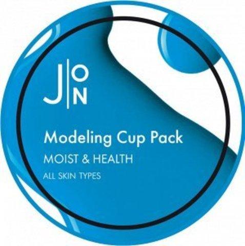 [J:ON] Альгинатная маска УВЛАЖНЕНИЕ И ЗДОРОВЬЕ MOIST & HEALTH MODELING PACK 18гр