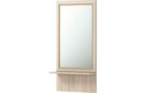 Брайтон 21 Зеркало настенное с полкой