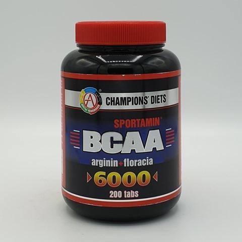 Аминокислотный комплекс BCAA 6000 СПОРТАМИН Академия-Т, 200 табл