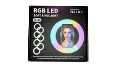 Селфи кольцо Rapture RGB LED MJ-33 (33см) RGB + штатив 1.9м