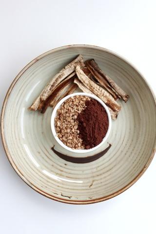 Шоколадная гречка с бананом, 220 г