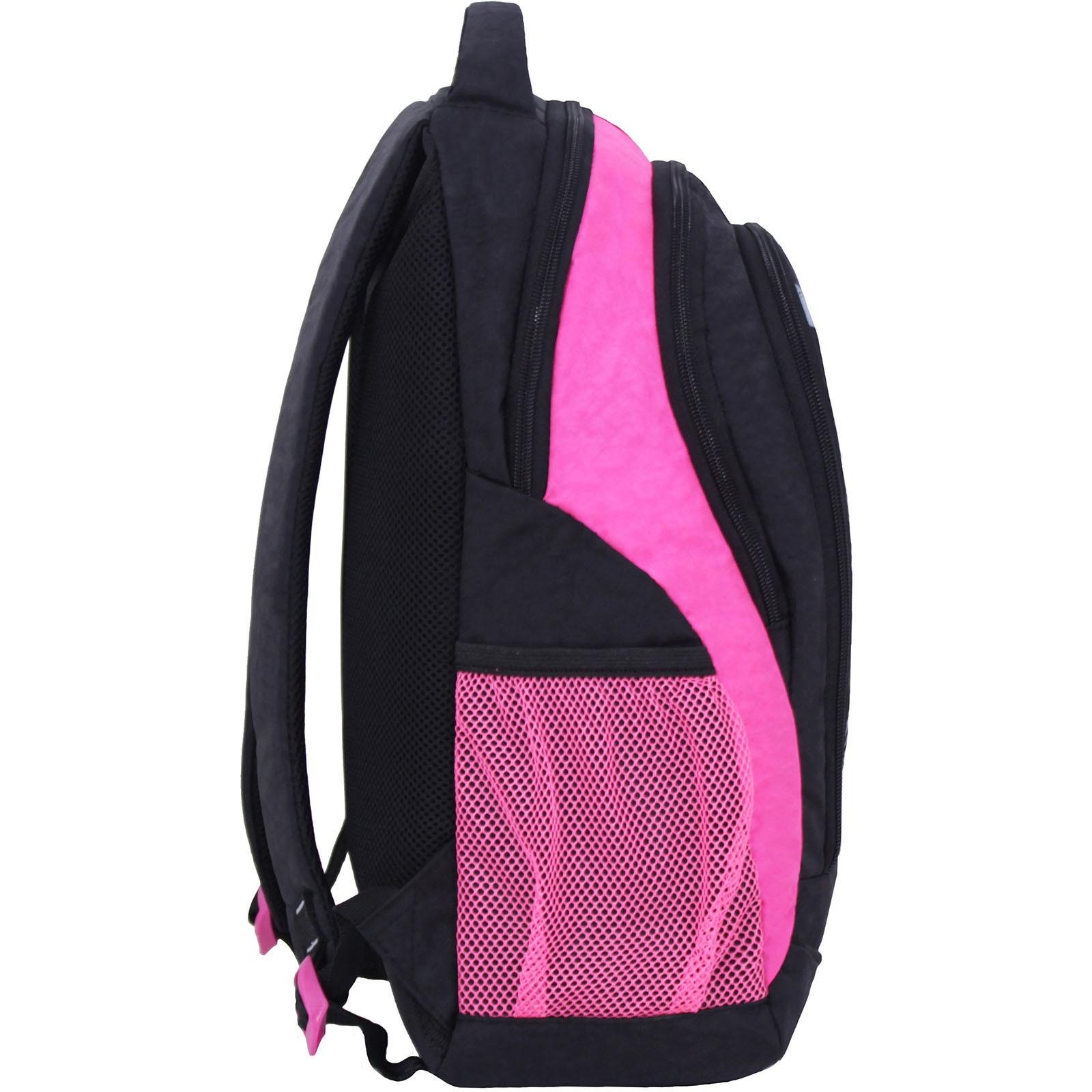 Рюкзак Bagland Бис Чёрный / розовый (0055670) фото 2