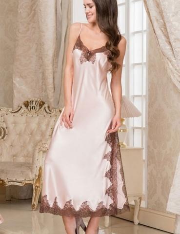 Сорочка женская шелковая MIA-Amore  MARILIN  Мэрилин  3108 пудра