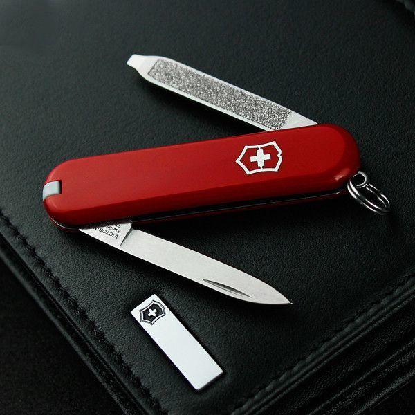 Нож-брелок Victorinox Escort (0.6123) 6 функций, 58 мм. в сложенном виде | Wenger-Victorinox.Ru