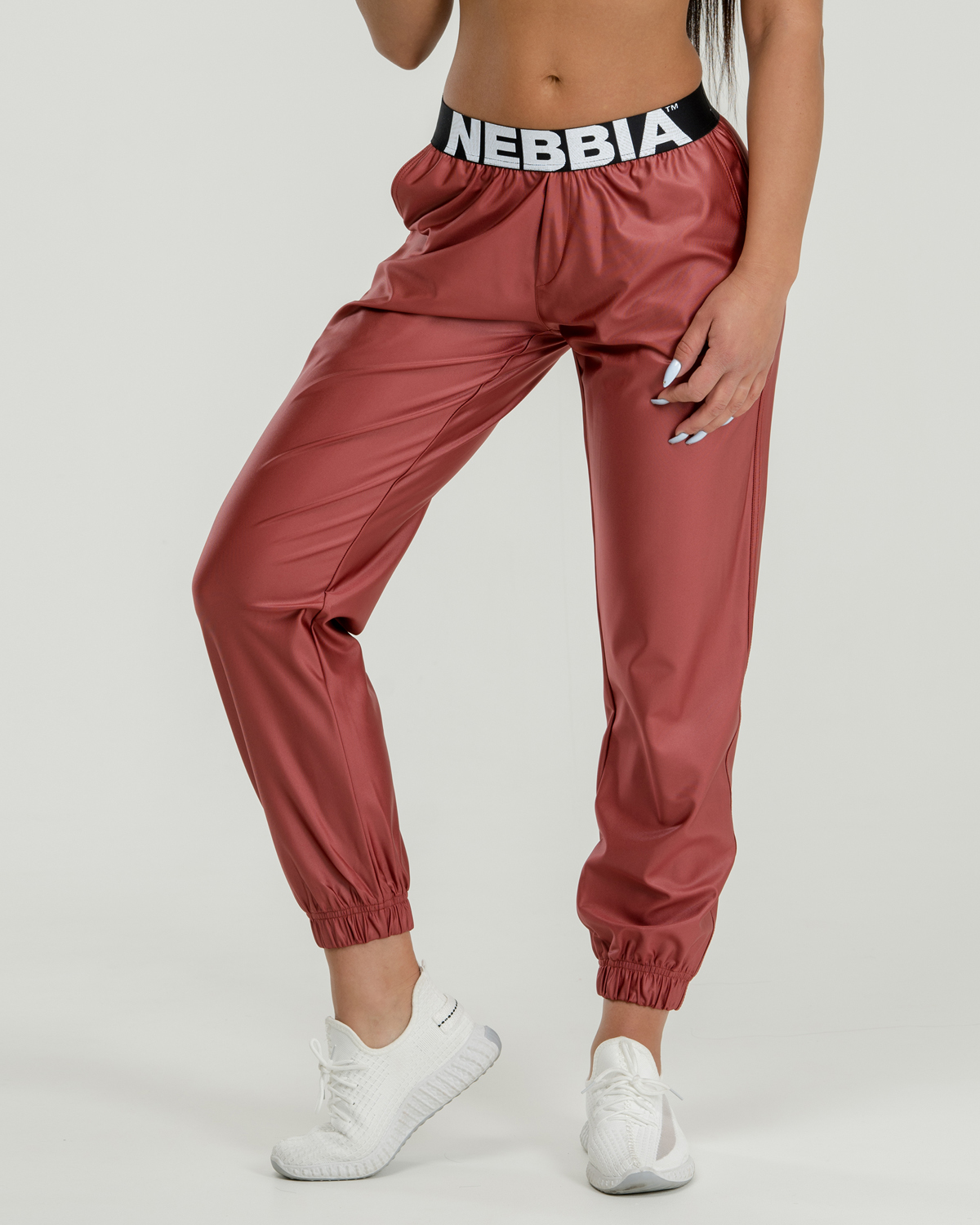 Брюки женские Nebbia Sports Drop Crotch pants 529 peach