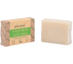 Натуральное мыло ручной работы Алое 100g, ТМ Levrana