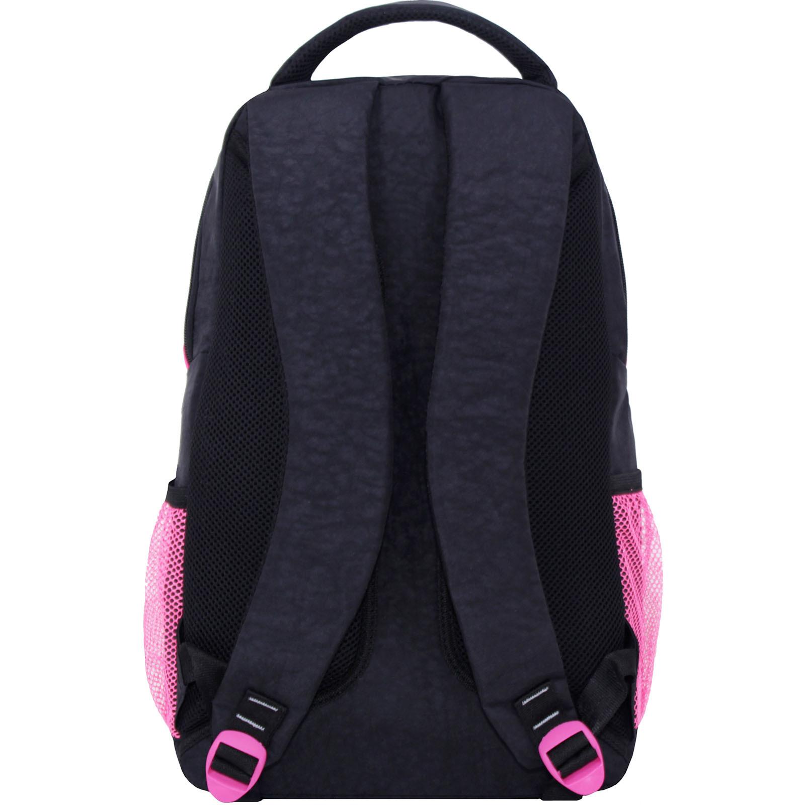 Рюкзак Bagland Бис Чёрный / розовый (0055670) фото 3