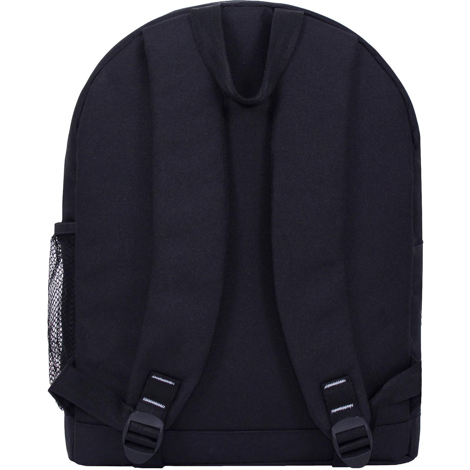 Рюкзак Bagland Молодежный W/R 17 л. черный 469 (00533662) фото 3