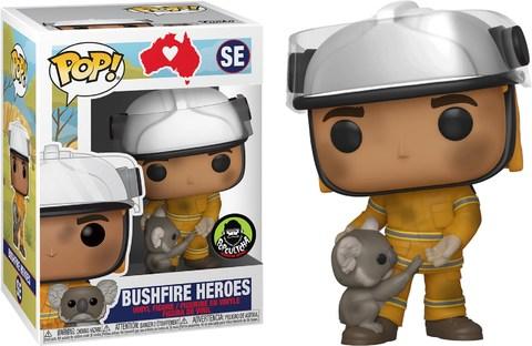 Фигурка Funko Pop! RSPCA: Bushfire Heroes - Firefighter with Koala (Excl. to Popcultcha)