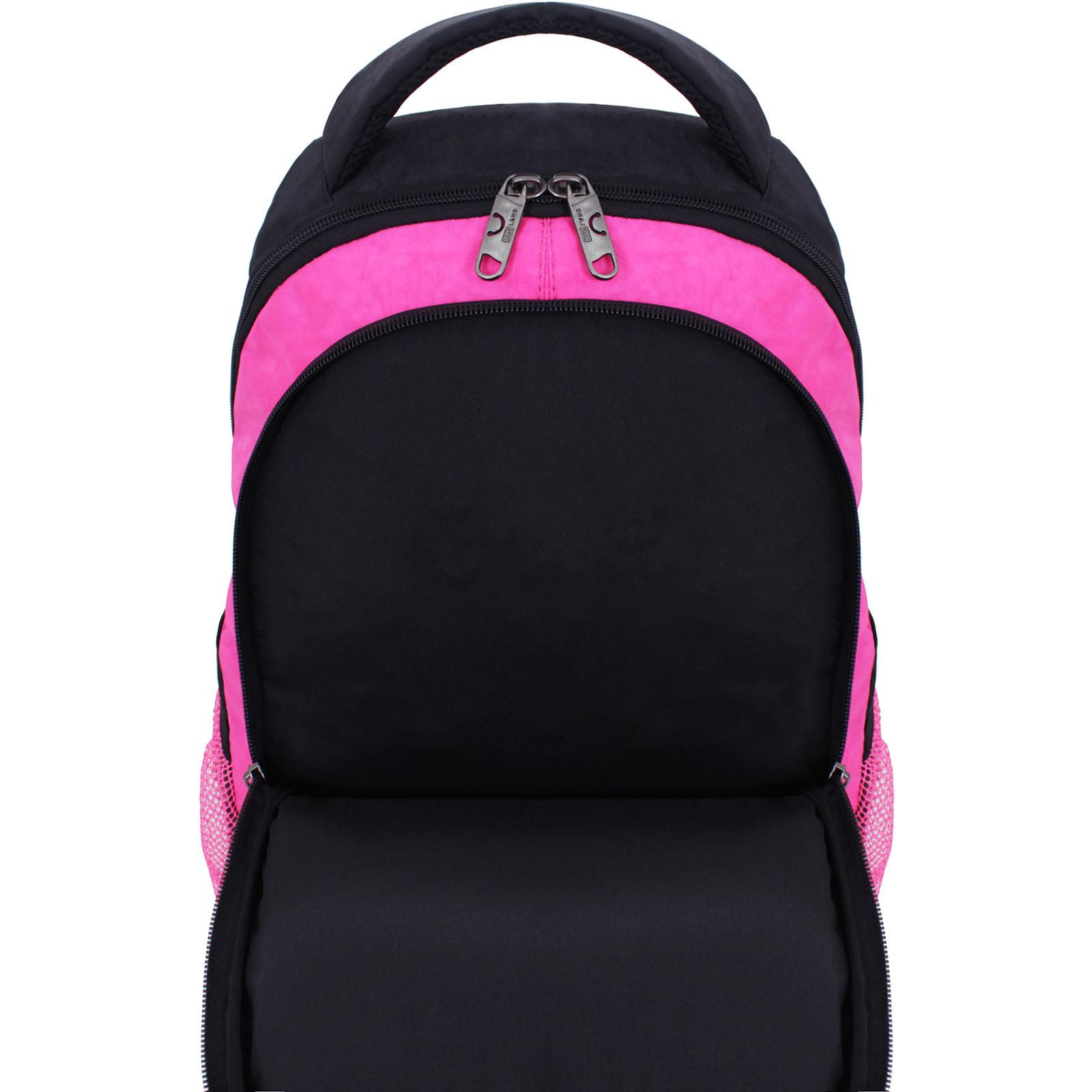 Рюкзак Bagland Бис Чёрный / розовый (0055670) фото 4