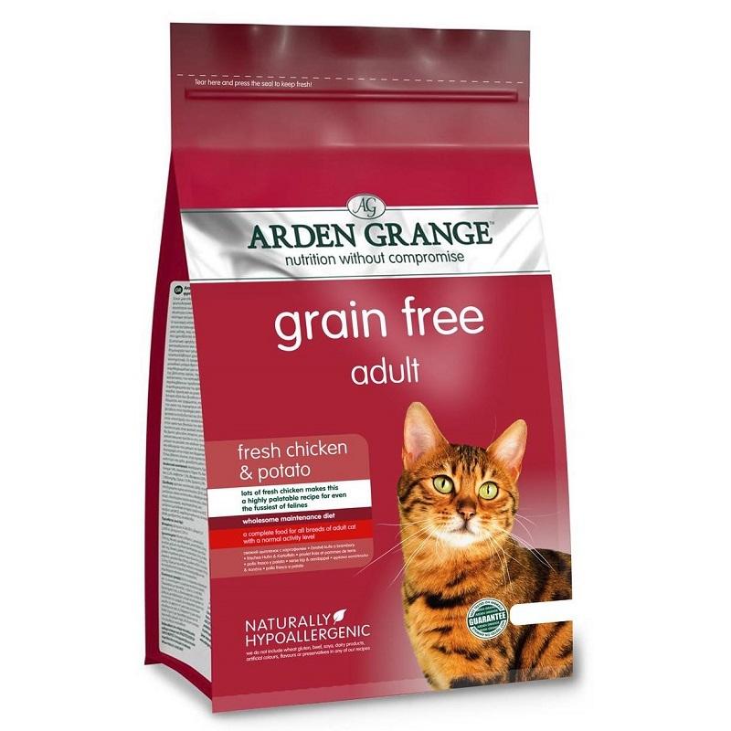 Каталог Сухой корм для кошек, Arden Grange Chicken & Potato, с курицей и картофелем (беззерновой) AG612234.jpg