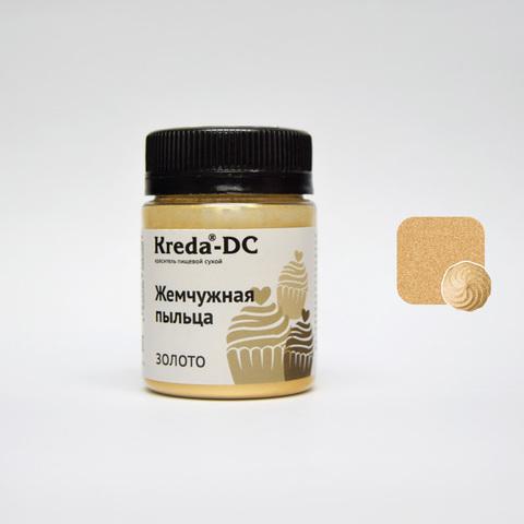 Жемчужная пыльца золото 5г.