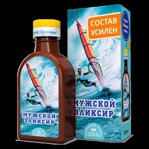 Масло льняное Мужской эликсир 200 мл (Компас здоровья)