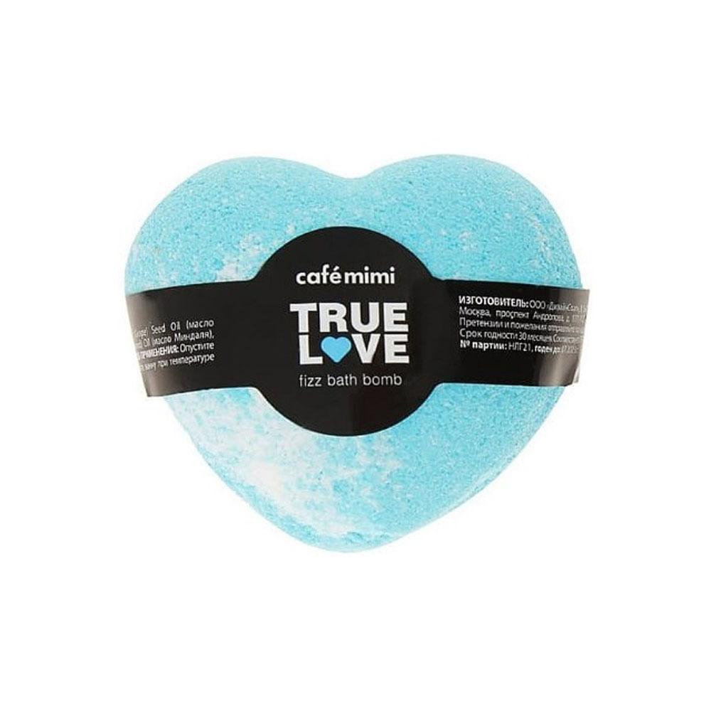 Гейзер Бурлящий для ванны Настоящая любовь голубое сердце