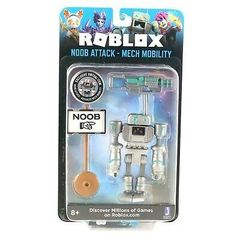 Игровая коллекционная фигурка Jazwares Roblox Imagination Figure Pack Noob Attack - Mech Mobility W7