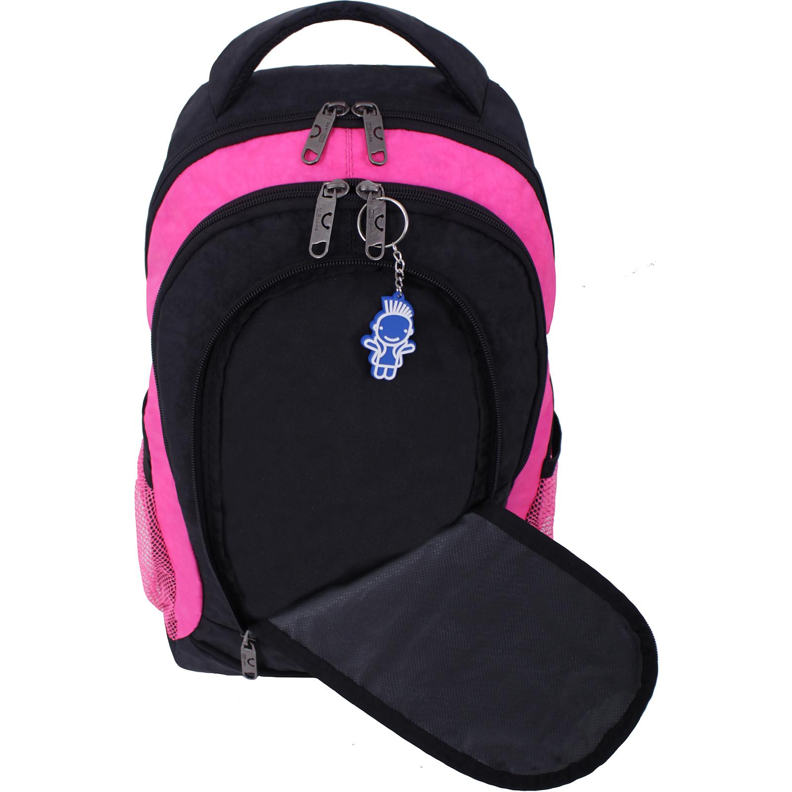 Рюкзак Bagland Бис Чёрный / розовый (0055670) фото 5