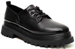 Женские черные туфли на платформе Marani magli M-237-06-18 Black.