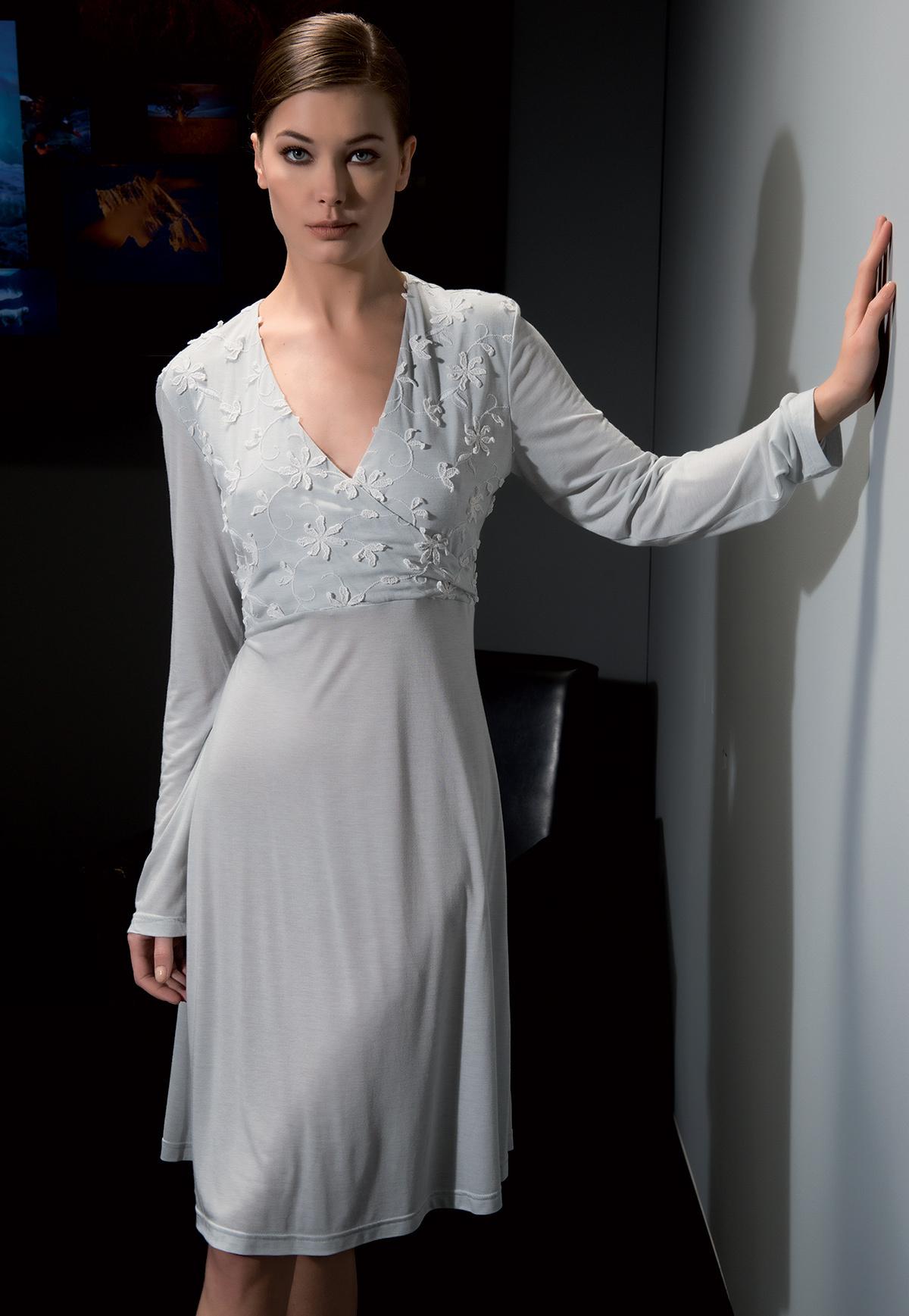 Домашнее платье с длинным рукавом Verdiani