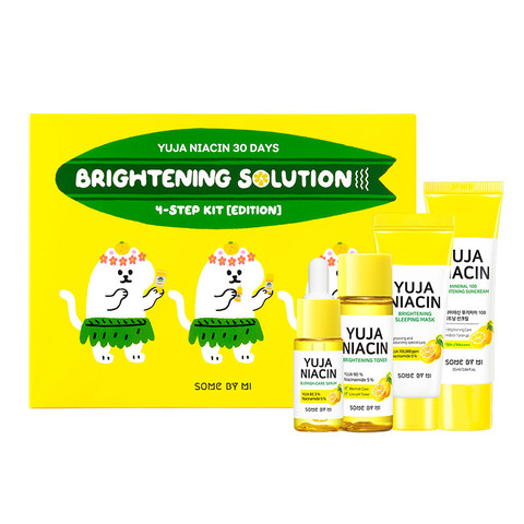 Some By Mi Набор для осветления кожи - Yuja niacin 30Days Brightening Starter 4Kit  Some By Mi