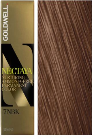Goldwell Nectaya 7NBK осенний блонд 60 мл