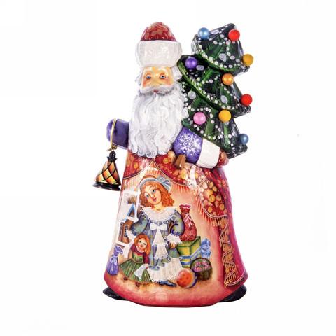 Дед Мороз с фонарем