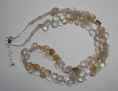 Ожерелье из рутила, 51-56 см
