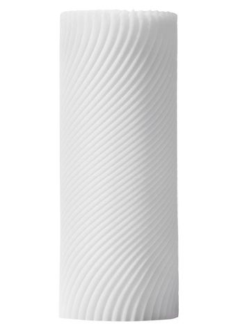 Белый 3D мастурбатор ZEN