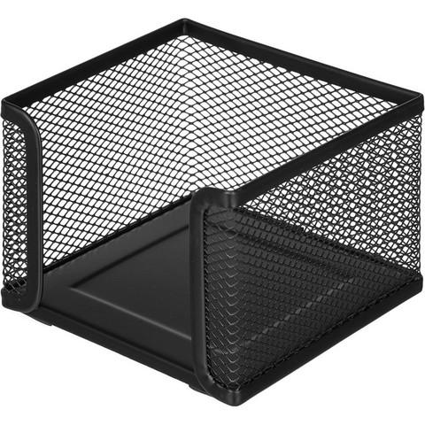 Подставка для блок-кубиков Attache (металлическая сетка, 105x105x78 мм, черная)