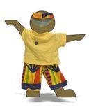 Летний костюм - Демонстрационный образец. Одежда для кукол, пупсов и мягких игрушек.