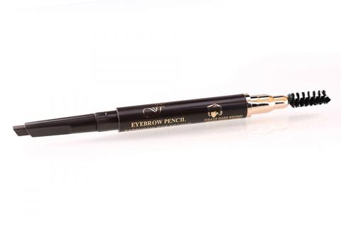 FFleur Карандаш  ES412 dark brown- тёмно-коричневый,для век и бровей Powder